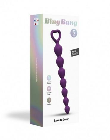 Love to Love - Bing Bang Größe S - Analkugeln - Lila