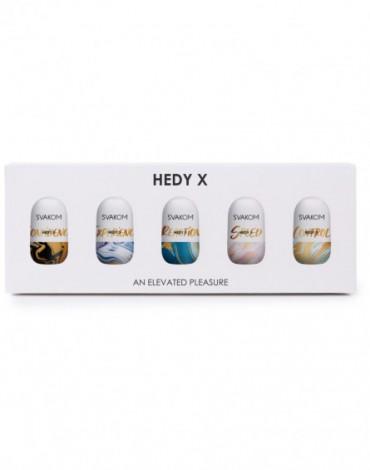 SVAKOM - Hedy X - Mini Masturbators - 5 stuks