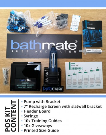 Bathmate - Compleet POS Set