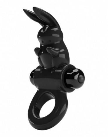 Pretty Love - Exciting Ring - Vibrierender Cockring - Schwarz
