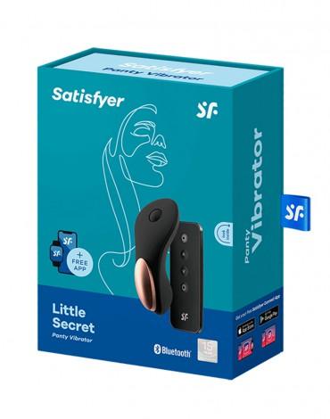 Satisfyer - Little Secret - Panty Vibrator - Zwart