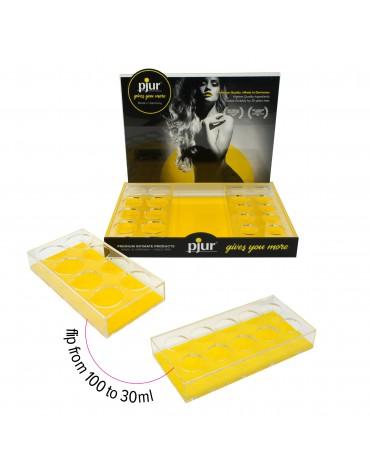 pjur - Acrylic Display voor 24 flesjes - Transparant