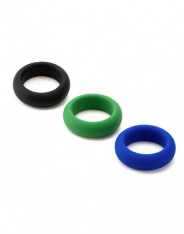 Je Joue - C-Ring - Juego de 3 anillos para el pene