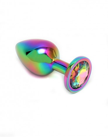 Rimba Toys - Pisa - Butt Plug - Rainbow