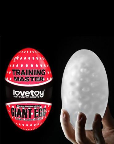 Love Toy - Giant Egg - Masturbation Egg - Red