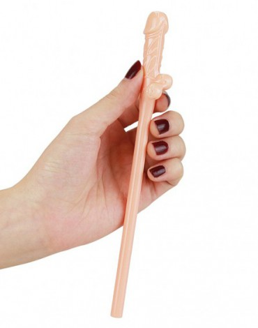 Love Toy - Realistic Willy Straws - Pack of 9