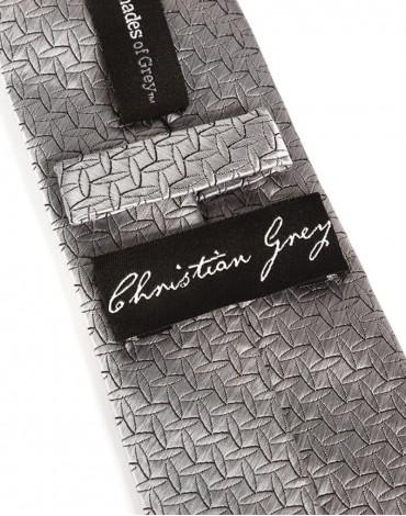 Christian Grey`s Tie - FSOG Silver Tie