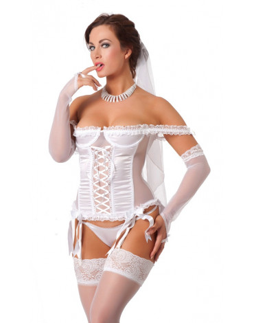 Rimba - Wedding Basque Set, 7 pcs