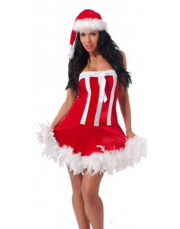 Rimba - Christmas Dress + Hat