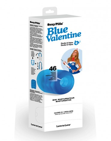 Love to Love - 6 x Sexy Pills Blue Valentine