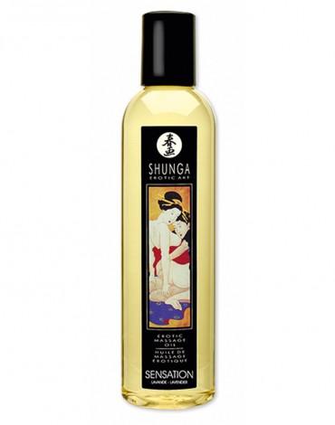 Shunga - Aceite de Masaje - Sensation Lavender 250 ml.