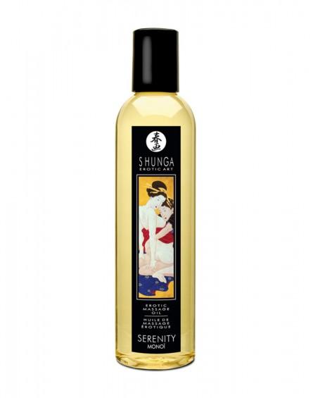 Shunga - Massage Oil - Serenity Monoï 250 ml
