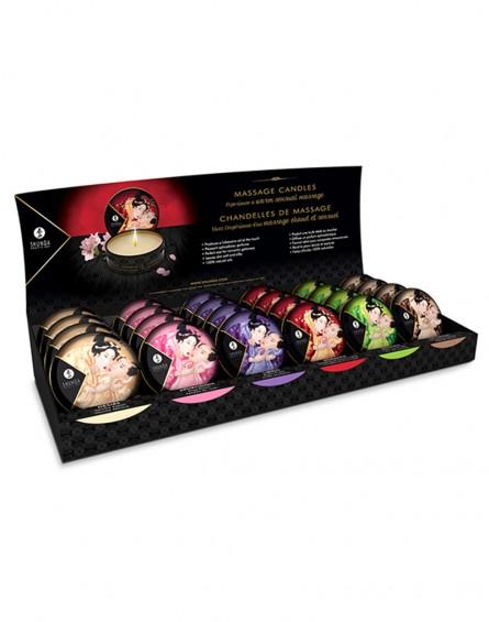Shunga - Mini Massage Candle - Display 24 x 30 ml.