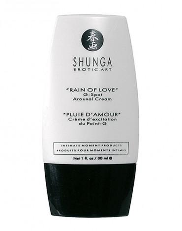 Shunga - G-Spot Arousal Cream - Rain of Love 30 ml.