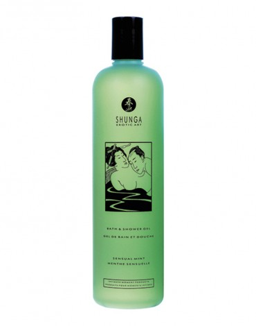 Shunga - Bath & Shower Gel - Sensual Mint 500 ml.