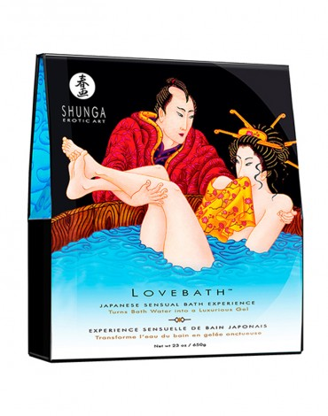 Shunga - Lovebath - Ocean Temptation 650 gr.