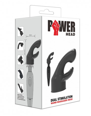 POWER - Massager Head Dual Stimulation