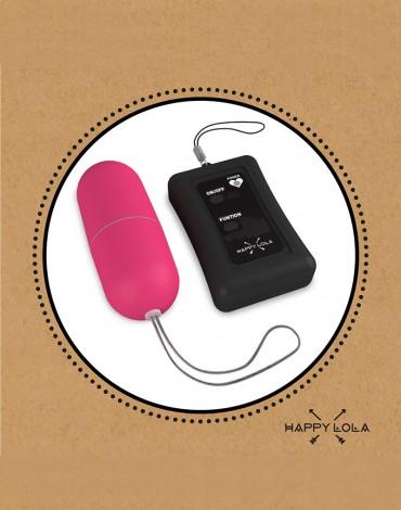 Happy Lola - Boule Vibrante + Remote