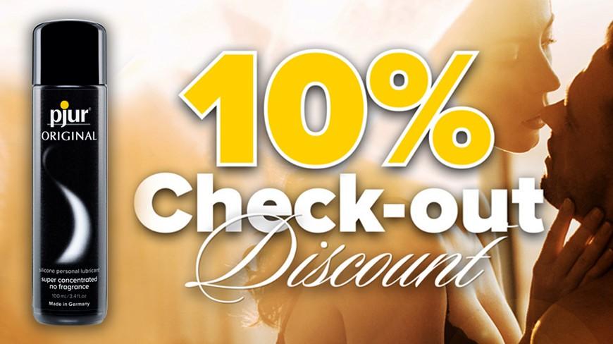PJUR Check-out DIscount