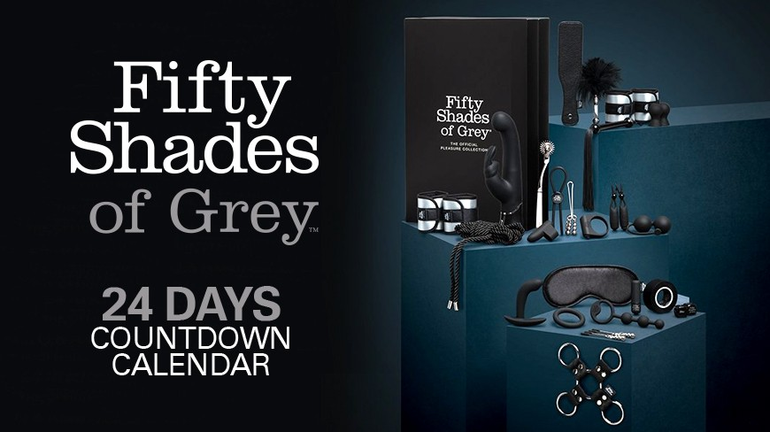 Fifty Shades of Grey 24 Days Countdown Calendar