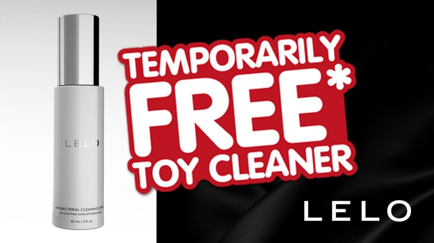 FREE LELO TOY CLEANER